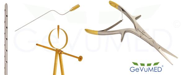 Instrumente der plastischen Chirurgie