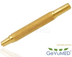 Kanülengriff 13 cm für Luer Lock Ansatz - mit Ø 13 mm Saugschlauch Anschluss
