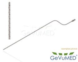 ENTNER Fettabsaugungs - Liposuktion - Kanüle - bajonettförmig - Luer-Lock Anschluss - Durchmesser Ø 3,0 mm - Drm. Löcher Ø 1,5 mm - Löcher 22 - Arbeitslänge 8 - 20 cm