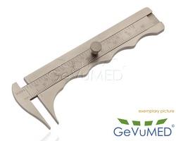 JAMESON Messschieber - Messbereich 0 - 80 mm - Länge 3-3/4 - 9,5 cm