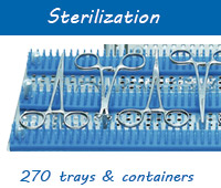 Buy sterile containers, security containers, dental implant and optical cartridges